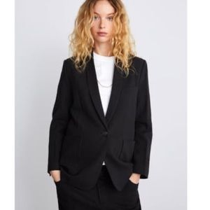Zara Blazer with pockets; size S.